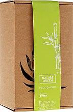 "Parfémy, Parfumerie, kosmetika Sada ""Bambus"" - Nature Queen(peel/250g+b/butter/150ml+b/lotion/200ml)"
