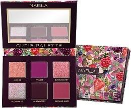 Parfémy, Parfumerie, kosmetika Paleta očních stínů - Nabla Cutie Collection Palette Wild Berry