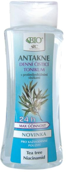 Tonikum na obličej - Bione Cosmetics Antakne Day Cleansing Tonic Tea Tree and Niacinamide