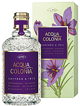 Parfémy, Parfumerie, kosmetika Maurer & Wirtz 4711 Acqua Colonia Saffron & Iris - Kolínská voda