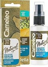 Parfémy, Parfumerie, kosmetika Sérum pro vlasy - Delia Cameleo Natural On Your Hair Aqua Action Serum
