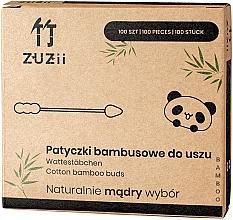 Parfémy, Parfumerie, kosmetika Bambusové vatové tyčinky s různými hroty - Zuzii Bamboo Cotton Buds