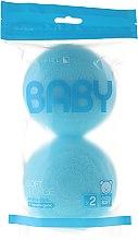 Parfémy, Parfumerie, kosmetika Sada hub, 2ks, modré - Suavipiel Baby Soft Sponge