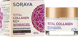Parfémy, Parfumerie, kosmetika Obnovující denní a noční krém proti vráskám 60 + - Soraya Total Collagen 60+
