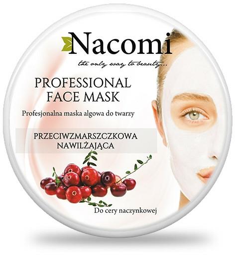 """Alginátová maska na obličej """"Brusinky"""" - Nacomi Professional Face Mask — foto N2"""