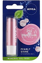 "Parfémy, Parfumerie, kosmetika Balzám na rty ""Perlový lesk"" - Nivea Lip Care Pearl & Shine Limited Edition"