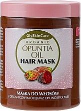 Parfémy, Parfumerie, kosmetika Maska na vlasy s organickým opuntiovým olejem - GlySkinCare Organic Opuntia Oil Hair Mask