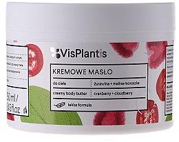 Parfémy, Parfumerie, kosmetika Krémový olej na tělo - Vis Plantis Herbal Vital Care Creamy Body Butter Cranberry and Cloudberry
