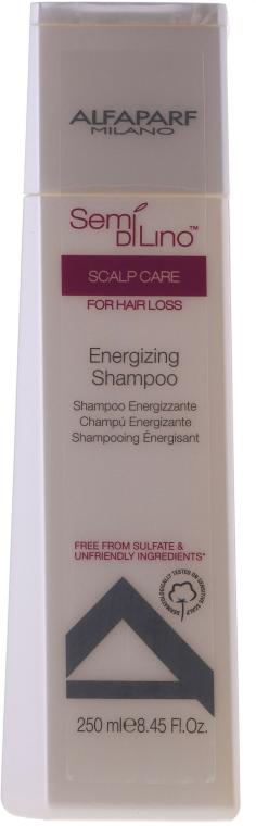 Tonizující šampon na vlasy - AlfaParf Semi Di Lino Scalp Care Energizing Shampoo — foto N1
