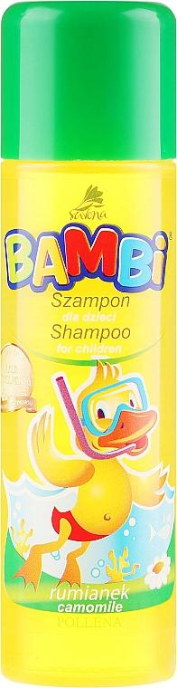 Heřmánkový šampon pro děti - Pollena Savona Bambi Chamomile Shampoo