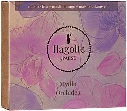 """Parfémy, Parfumerie, kosmetika Přírodní mýdlo na ruce a tělo """"Orchidej"""" - Flagolie by Paese Cranberry"""