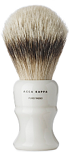 Parfémy, Parfumerie, kosmetika Holicí štětec - Acca Kappa Shaving Brush Pure Silver Badger