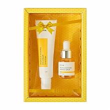 Parfémy, Parfumerie, kosmetika Sada - iUNIK Propolis Vitamin Eye Cream Set (eye/cr/30ml + ser/15ml)