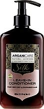 Parfémy, Parfumerie, kosmetika Nesmávatelný kondicionér suché a poškozené vlasy - Arganicare Silk Leave-In Conditioner For Very Dry & Damaged Hair
