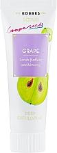 Parfémy, Parfumerie, kosmetika Hluboce čistící peeling Hrozny - Korres Grape Scrub