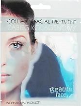 Parfémy, Parfumerie, kosmetika Kolagenová terapie s mořskými řasami - Beauty Face Collagen Hydrogel Mask
