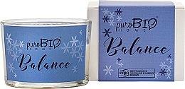 Parfémy, Parfumerie, kosmetika Organická svíčka - PuroBio Home Organic Balance