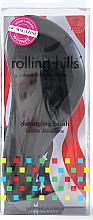 Parfémy, Parfumerie, kosmetika Kartáč na vlasy, černý - Rolling Hills Detangling Brush Travel Size Sky Black