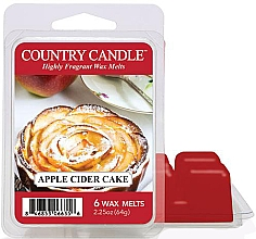 Parfémy, Parfumerie, kosmetika Vosk do aroma lampy - Country Candle Apple Cider Cake Wax Melts
