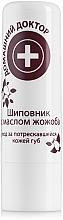 Parfémy, Parfumerie, kosmetika Hygienická rtěnka šípek s jojobovým olejem - Domácí Lékař