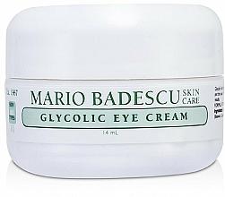 Parfémy, Parfumerie, kosmetika Oční krém s kyselinou glykolovou - Mario Badescu Glycolic Eye Cream