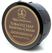 Parfémy, Parfumerie, kosmetika Krém na holení Tabák - Taylor of Old Bond Street Tobacco Leaf Shaving Cream Bowl