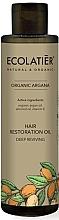 Parfémy, Parfumerie, kosmetika Vlasový olej Hluboká regenerace - Ecolatier Organic Argana Hair Restoration Oil