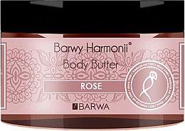 "Parfémy, Parfumerie, kosmetika Tělový olej ""Růže"" - Barwa Harmony Body Butter Rose"