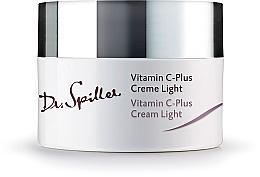 Parfémy, Parfumerie, kosmetika Pleťový krém, denní lehký - Dr. Spiller Vitamin C-Plus Cream Light
