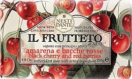 """Parfémy, Parfumerie, kosmetika Mýdlo """"Třešně a červené jahody"""" - Nesti Dante Il Frutteto Soap"""