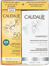 Parfémy, Parfumerie, kosmetika Sada - Caudalie Vinoperfect Set (ser/30ml + sun/cr/25ml)