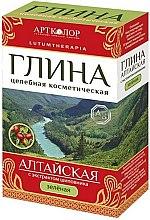 Parfémy, Parfumerie, kosmetika Hlína zelená kosmetická altajská s extraktem z šípku - Artcolor