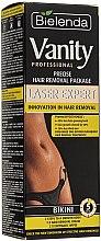 "Parfémy, Parfumerie, kosmetika Sada ""Pro přesnou depilaci bikin"" - Bielenda Vanity Laser Expert (cr/100ml + balm/2x5g + blade)"
