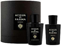 Parfémy, Parfumerie, kosmetika Acqua di Parma Sandalo - Sada (edp/100ml+sh/gel/200ml)