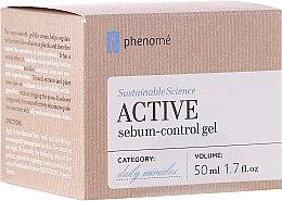 Parfémy, Parfumerie, kosmetika Krém-gel s kyselinou hyaluronovou - Phenome Sustainable Science Active Sebum-Control Gel