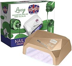 Parfémy, Parfumerie, kosmetika Lampa CCFL+LED, zlatá - Ronney Profesional Lucy CCFL + LED 38W (GY-LCL-021) Lamp