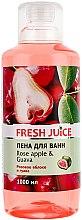 Parfémy, Parfumerie, kosmetika Koupelová pěna Růžové jablko a guava - Fresh Juice Rose Apple and Guava