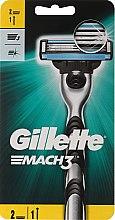 Parfémy, Parfumerie, kosmetika Holicí strojek s 2 náhradními hlavicemi - Gillette Mach3