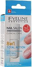 Parfémy, Parfumerie, kosmetika Regenerační prostředek na nehty 8v1 - Eveline Cosmetics Nail Salon Clinical Care 8 in 1