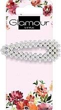 Parfémy, Parfumerie, kosmetika Sponky do vlasů, 417612, bílé s černým - Glamour