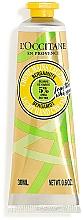 Parfémy, Parfumerie, kosmetika Krém na ruce s bambuckým máslem a bergamotem - L'Occitane Shea Butter Bergamot Light Hand Cream