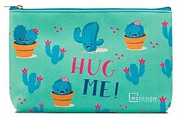 Parfémy, Parfumerie, kosmetika Kosmetická taštička se vzorem, tyrkysová - IDC Design Accessories Cosmetig Bag