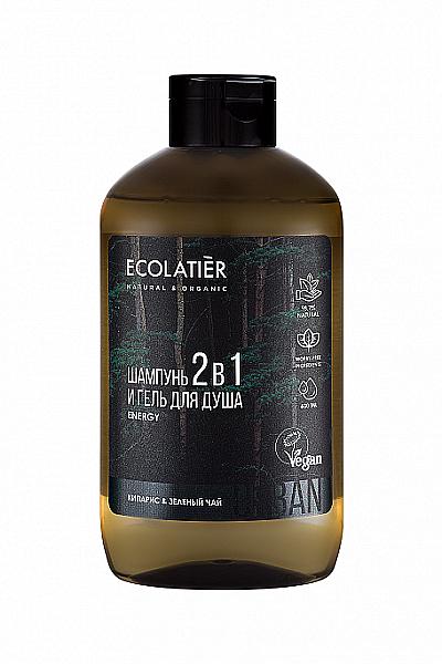 Pánský sprchový gel a šampon 2 v 1 - Ecolatier Urban Energy