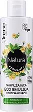 Parfémy, Parfumerie, kosmetika Hydratační a odličovací eko emulze - Lirene Natura Fermenty Moisturizing Eco Emulsion