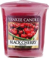 """Parfémy, Parfumerie, kosmetika Aromatická svíčka """"Černá třešeň"""" - Yankee Candle Scented Votive Black Cherry"""