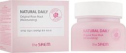 Parfémy, Parfumerie, kosmetika Hydratační maska s růží - The Saem Natural Daily Original Rose Mask