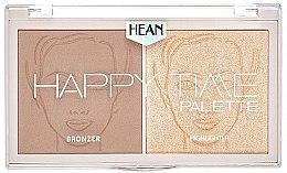 Parfémy, Parfumerie, kosmetika Paleta na kontury obličeje - Hean Happy Time Palette