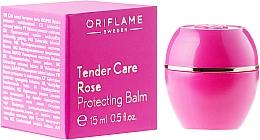 """Parfémy, Parfumerie, kosmetika Změkčující prostředek """"Jemná péče"""" s růžovým olejem - Oriflame Tender Care Rose Protecting Balm"""