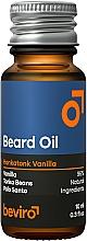 Parfémy, Parfumerie, kosmetika Olej na vousy - Beviro Beard Oil Honkatonk Vanilla