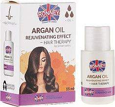Parfémy, Parfumerie, kosmetika Olej na unavené vlasy - Ronney Argan Oil Rejuvenating Hair Therapy